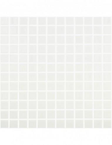 Piscinas - Gresite Liso Blanco - mosaico de vidrio liso  - VidrePur