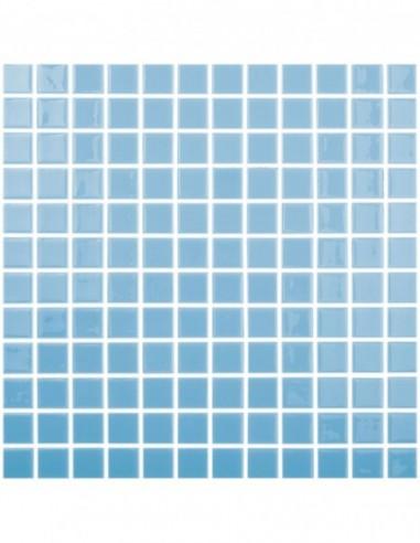 Piscinas - Gresite Liso Turquesa - mosaico de vidrio liso  - VidrePur
