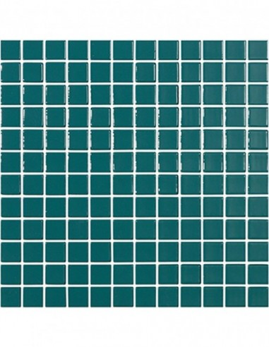 Piscinas - Gresite Liso Verde Esmeralda - mosaico de vidrio liso - VidrePur