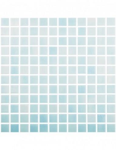 Piscinas - Gresite Niebla Azul Niza - mosaico de vidrio  - VidrePur