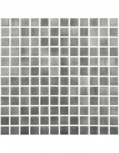 Piscinas - Gresite Niebla Gris Oscuro - mosaico de vidrio  - VidrePur