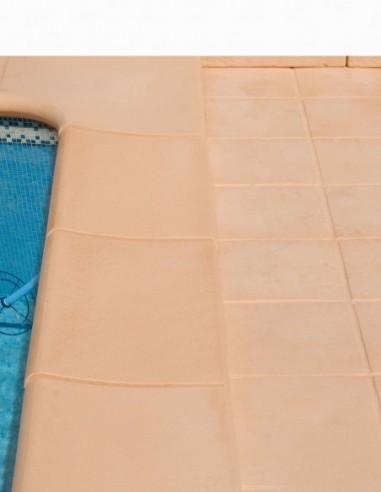 Piscinas - Remate piscina Cañaveral con baldosa Loja en Salmón - Verniprens